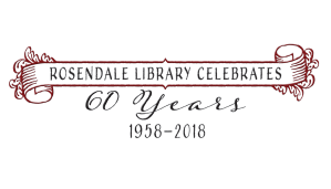 Rosendale Library Celebrates 60 years (1958-2018)