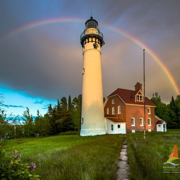 Outer Island Lighthouse-100 Years of Rainbows