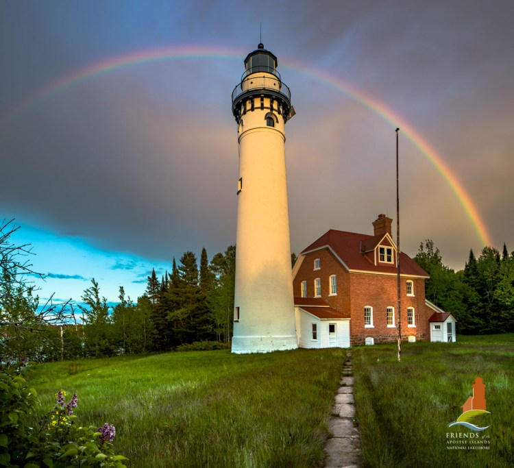 Outer Island Lighthouse-100 Years of Rainbow