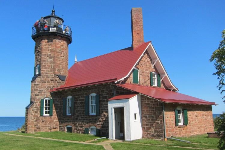 Sand Island Lighthouse tour