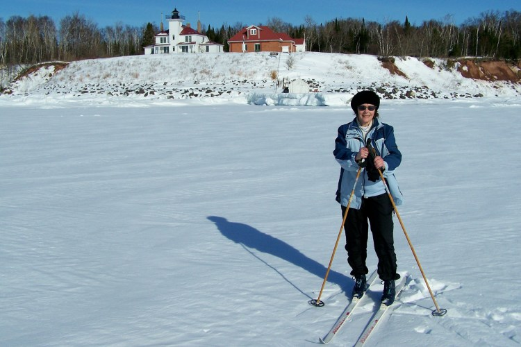 In the right conditions. cross country skiing is wonderful