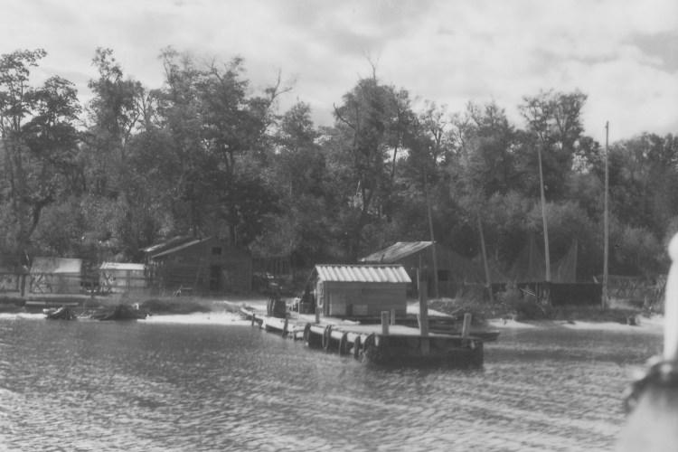 Bear Island fish camp