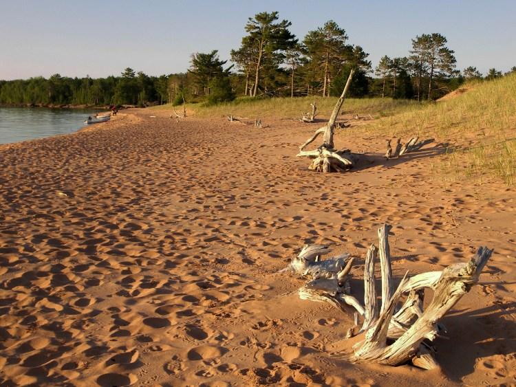 Julian Bay beach in early morning
