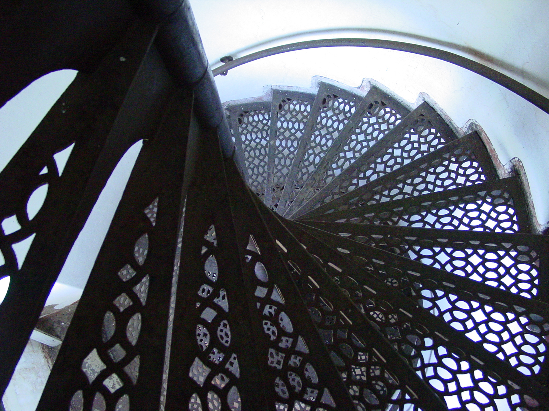Outer Island light stairs
