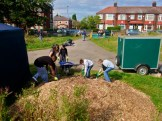Work on Levenshulme Community Orchard 3