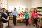 North Gower-Kars knitters with MP Pierre Poilievre
