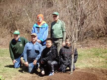 Park Serve tree planting crew