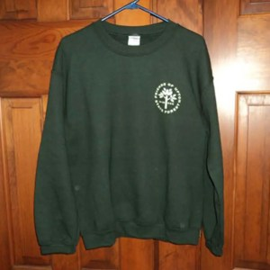 Friends of Upton State Forest Green sweatshirt