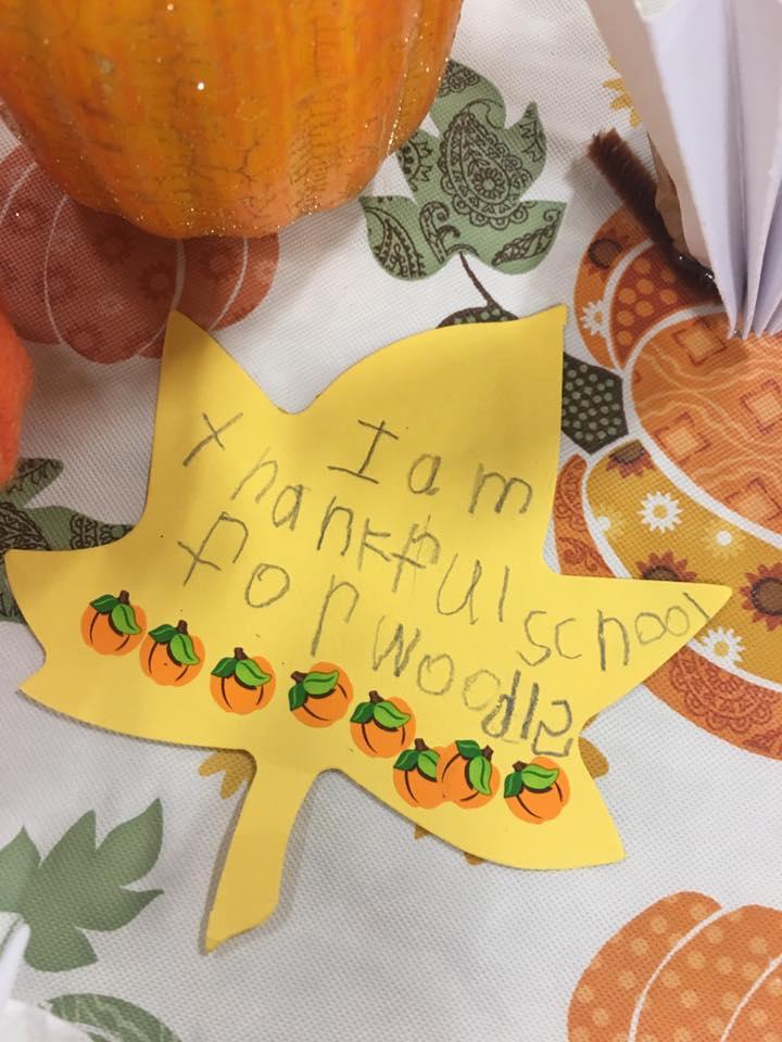 Thankful leaf