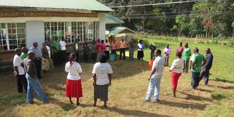 Gathering for Prayer