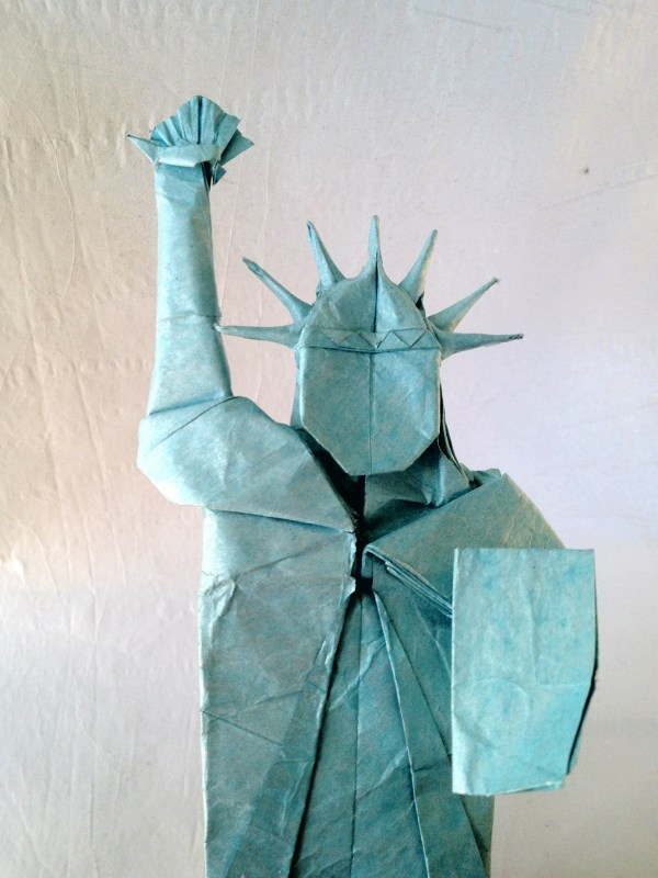 Statue Of Liberty Friesen Folding
