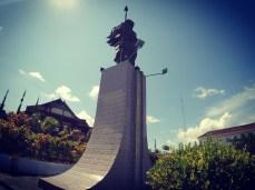 The Martha Christina Tiahahu Monument, overlooking Banda Sea
