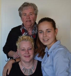 Met Anna en Ingrid