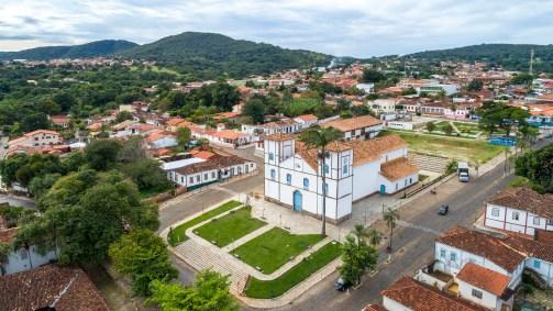 foto da cidade para representar delivery em pirenópolis