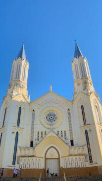 igreja para simbolizar o delivery em São José do Rio Pardo