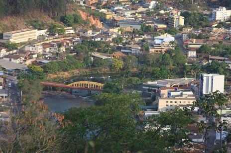 imagem da cidade para representar delivery em ponte nova