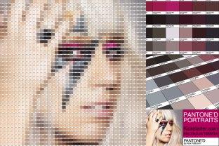 lady Gaga Pantoned
