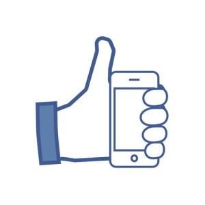 Illustrasjon facebook ikon