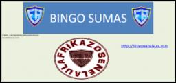 Bingos matemáticos