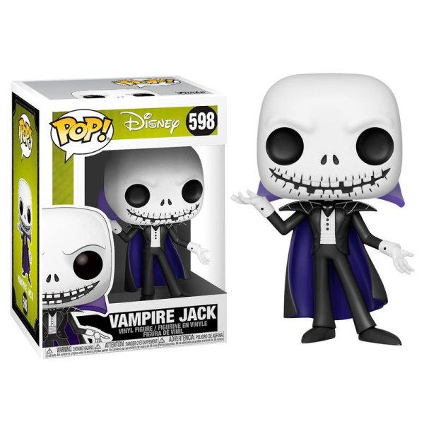 Funko POP! Vampire Jack – Pesadilla Antes de Navidad