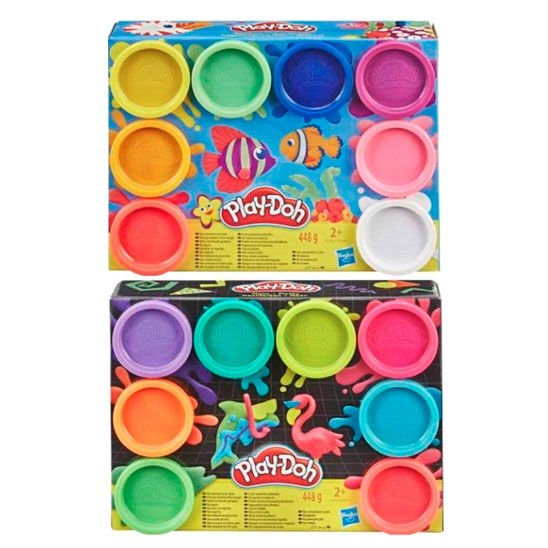 Pack 8 botes colores Play-Doh (surtido)