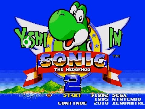 Yoshi llega a Sonic the Hedgehog 2