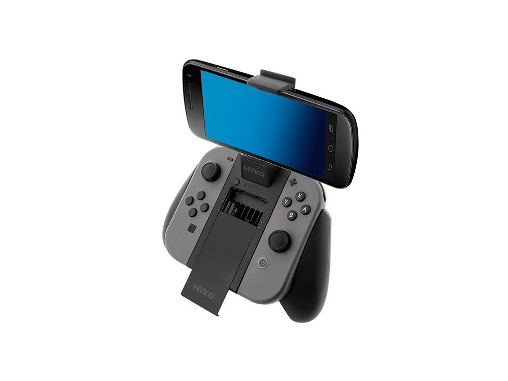 Chequea el accesorio Clip Grip Power para Nintendo Switch de Nyko