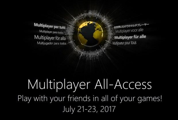 xbox-live-gratuito-este-fin-semana-evento-multiplayer-all-access-frikigamers.com