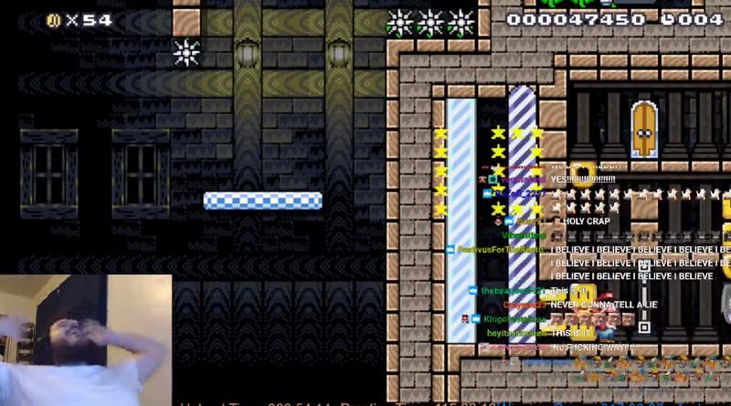 Gamer completa nivel muy difícil de Mario Maker después de 400 horas
