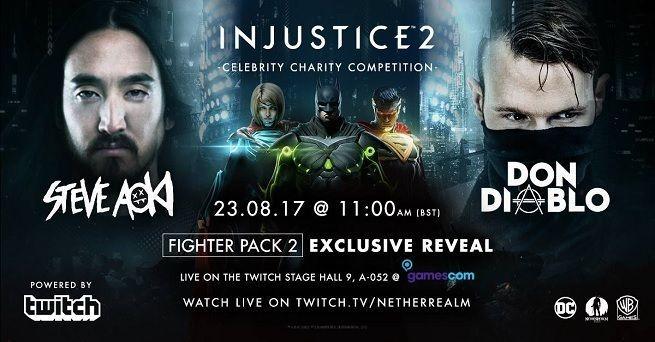 Los nuevos luchadores de Injustice 2 se anunciará en la Gamescom