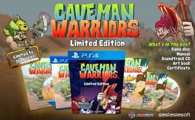 caveman-warriors-tendra-una-edicion-fisica-limitada-ps4-frikigamers.com