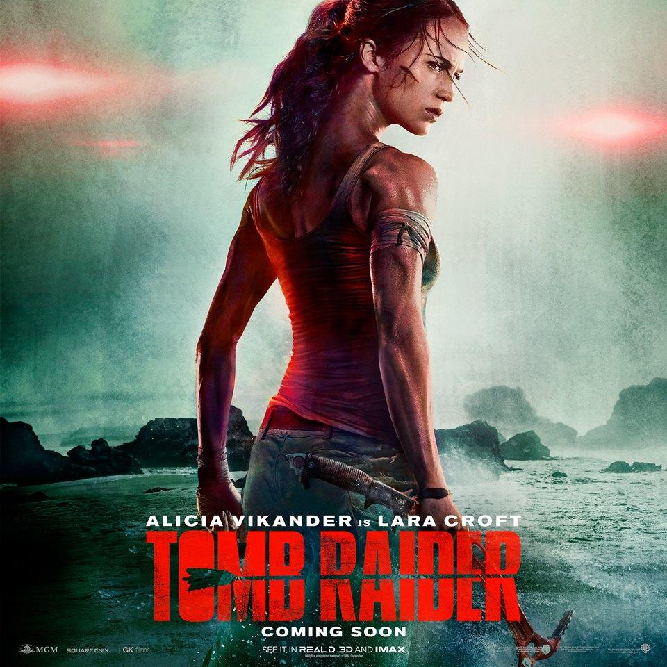 Chequea el primer teaser de la película Tomb Raider