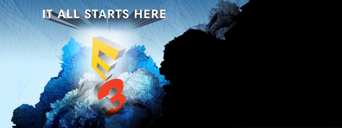 E3 estrenará nuevo logo en 2018.