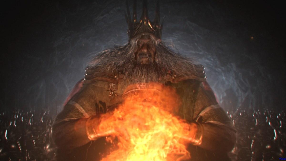 Mira como destruyen a un jefe final de Dark Souls de un solo golpe