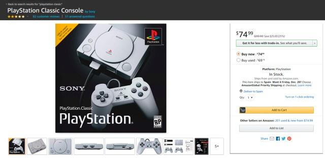 PlayStation-Classic-amazon-frikigamers.com