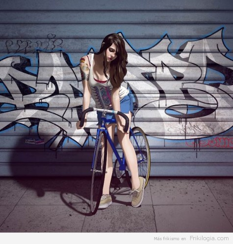 Pin-Ups-and-Bicycles-illustrations-by-Halfanese-12