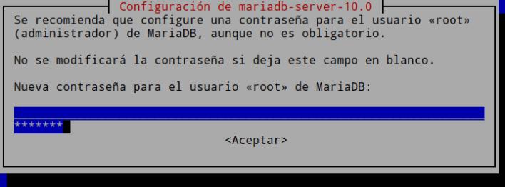 Instalación MariaDB 1