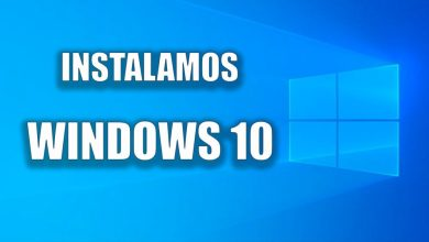 Instalamos Windows 10