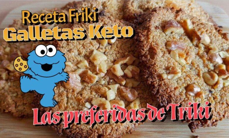 Galletas Keto Friki - Las preferidas de Triki