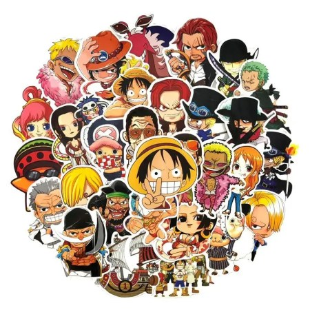 pegatinas-one-piece-stickers-anime-kawaii