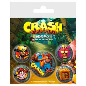 set-chapas-crash-bandicoot-playstation