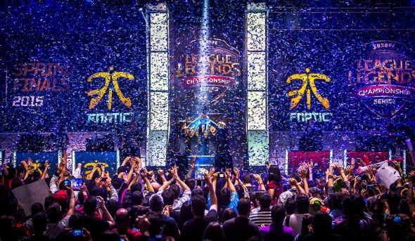 Fnatic stage