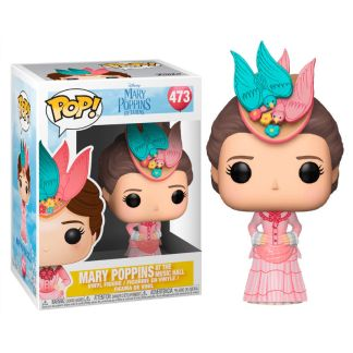 POP figure Disney Mary Poppins Mary Pink Dress