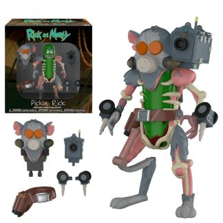 Figura action Rick & Morty Pickle