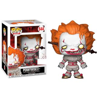 Figura POP It 2017 Pennywise with Wrought Iron Exclusive