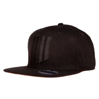Gorra negra Black Ops 4 Call of Duty parche