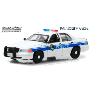 Ford Crown Victoria - Police Interceptor California Police MacGyver (2003) Greenlight 1/43