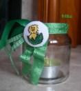Easter tealight green