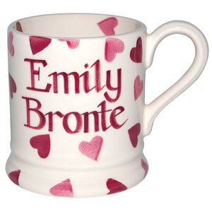 Emma Bridgewater Personalised pink hearts half pint mug - £18