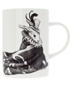 Liberty Rory Dobner Wrapped Rabbit Bone China mug - £15.50